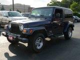 2006 Midnight Blue Pearl Jeep Wrangler Unlimited 4x4 #11802466