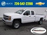 2017 Summit White Chevrolet Silverado 2500HD Work Truck Double Cab 4x4 #118361815
