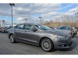 2013 Sterling Gray Metallic Ford Fusion Titanium #118361720