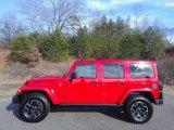 2017 Firecracker Red Jeep Wrangler Unlimited Rubicon Hard Rock 4x4 #118361565