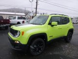 2017 Hypergreen Jeep Renegade Latitude 4x4 #118361746