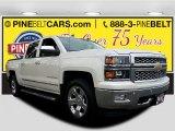 2014 Summit White Chevrolet Silverado 1500 LTZ Crew Cab 4x4 #118361594