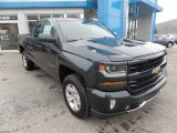 2017 Graphite Metallic Chevrolet Silverado 1500 LT Double Cab 4x4 #118385766