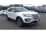 2017 White Platinum Ford Explorer Platinum 4WD #118392504
