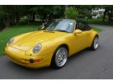 1995 Porsche 911 Speed Yellow