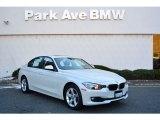 2014 Mineral White Metallic BMW 3 Series 320i xDrive Sedan #118392493