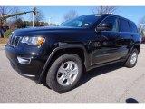 2017 Diamond Black Crystal Pearl Jeep Grand Cherokee Laredo #118395785