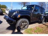 2017 Granite Crystal Metallic Jeep Wrangler Unlimited 75th Anniversary Edition 4x4 #118395783