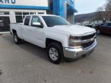 2017 Summit White Chevrolet Silverado 1500 LT Double Cab 4x4 #118395758
