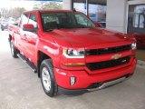 2017 Red Hot Chevrolet Silverado 1500 LT Crew Cab 4x4 #118395893