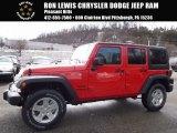 2017 Firecracker Red Jeep Wrangler Unlimited Sport 4x4 #118395851