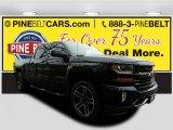 2017 Black Chevrolet Silverado 1500 LT Crew Cab 4x4 #118395716