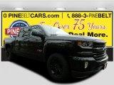 2017 Black Chevrolet Silverado 1500 LTZ Crew Cab 4x4 #118395715
