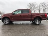 2017 Bronze Fire Ford F150 Lariat SuperCrew 4X4 #118410682