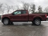 2017 Bronze Fire Ford F150 XLT SuperCab 4x4 #118410677
