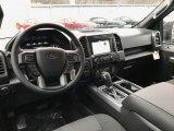 2017 Ford F150 XLT SuperCrew 4x4 Black Interior