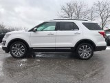 2017 White Platinum Ford Explorer Platinum 4WD #118410670