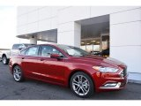 2017 Ruby Red Ford Fusion S #118410622