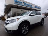 2017 White Diamond Pearl Honda CR-V EX-L AWD #118410661