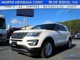 2017 White Platinum Ford Explorer XLT #118410502