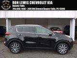2017 Black Cherry Kia Sportage EX AWD #118410596