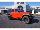 2017 Firecracker Red Jeep Wrangler Unlimited Sport 4x4 #118410705