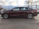 2017 Burgundy Velvet Ford Fusion SE #118410694