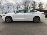 2017 White Platinum Ford Fusion Sport AWD #118410691