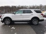 2017 White Platinum Ford Explorer Platinum 4WD #118410689