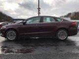2017 Burgundy Velvet Ford Fusion SE #118410688