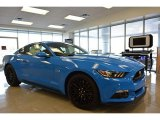 2017 Grabber Blue Ford Mustang GT Coupe #118434699