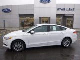 2017 Oxford White Ford Fusion SE #118434879
