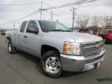 2013 Silver Ice Metallic Chevrolet Silverado 1500 LT Extended Cab #118434783