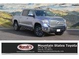 2017 Silver Sky Metallic Toyota Tundra Limited CrewMax 4x4 #118434574