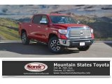 2017 Barcelona Red Metallic Toyota Tundra Limited CrewMax 4x4 #118434572