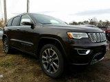 2017 Luxury Brown Pearl Jeep Grand Cherokee Overland 4x4 #118434612