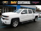 2016 Summit White Chevrolet Silverado 1500 LT Crew Cab 4x4 #118434660