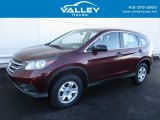 2014 Basque Red Pearl II Honda CR-V LX AWD #118458482