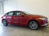 2017 Ruby Red Ford Fusion SE #118458598