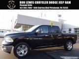 2012 Black Dodge Ram 1500 SLT Crew Cab 4x4 #118458721