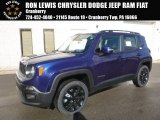 2017 Jetset Blue Jeep Renegade Latitude 4x4 #118458587