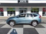 2014 Twilight Blue Metallic Honda CR-V EX-L #118458713