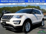 2017 White Platinum Ford Explorer XLT 4WD #118458447