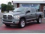 2007 Mineral Gray Metallic Dodge Ram 1500 Big Horn Edition Quad Cab 4x4 #11805431