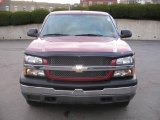 2005 Sport Red Metallic Chevrolet Silverado 1500 LS Extended Cab 4x4 #1149750