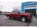 2017 Siren Red Tintcoat Chevrolet Silverado 1500 LT Crew Cab 4x4 #118483047