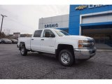 2017 Summit White Chevrolet Silverado 2500HD Work Truck Crew Cab 4x4 #118483043