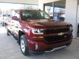 2017 Siren Red Tintcoat Chevrolet Silverado 1500 LT Crew Cab 4x4 #118483165