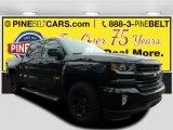 2017 Black Chevrolet Silverado 1500 LTZ Crew Cab 4x4 #118482918