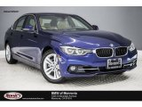 2017 Mediterranean Blue Metallic BMW 3 Series 330e iPerfomance Sedan #118505290